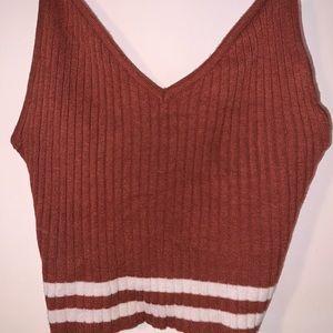 Sweater tank